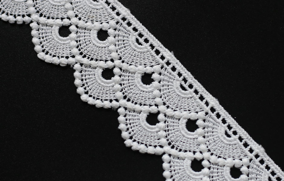 water soluble embroidery lace