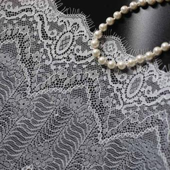 black new design eyelash lace