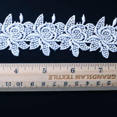 cotton embroidery lace  from china