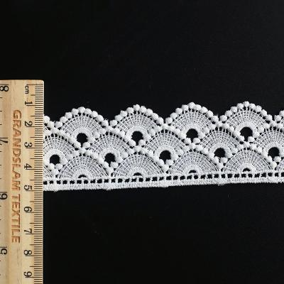 water solubel embroidery lace trim